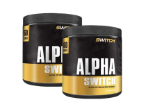 ALPHA SWITCH 60 SERVES TWIN PACK by SWITCH NUTRITION