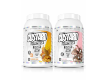 CASEIN CUSTARD 1kg TWIN PACK by MUSCLE NATION