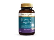 GINSENG 4 ENERGY GOLD 60 TABLETS by HERBS OF GOLD