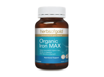 ORGANIC IRON MAX 30 CAPSULES by HERBS OF GOLD