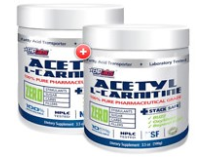 ACETYL L-CARNITINE 100 SERVES TWIN PACK by EHP LABS