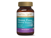 STRESS EASE ADRENAL SUPPORT 60 TABLETS by HERBS OF GOLD