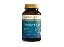 TYROSINE 1000 60 TABLETS by HERBS OF GOLD