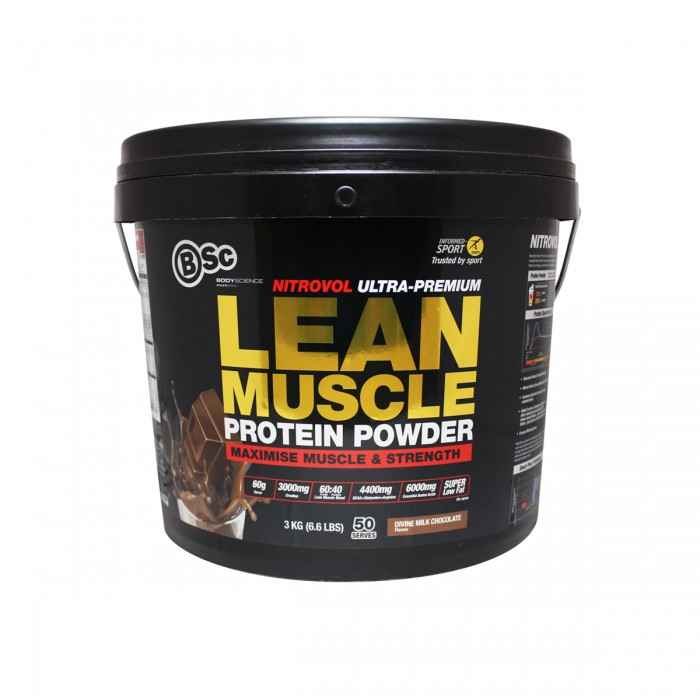 Supplement Mania Online - BSC Nitrovol Lean Muscle 3kg
